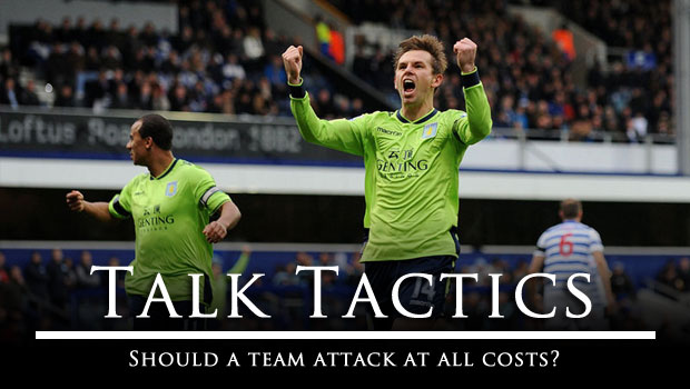 Talk Tactics Should A Team Attack At All Costs