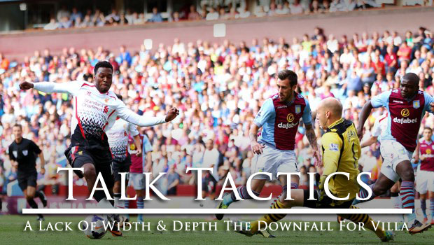 Talk Tactics Aston Villa Lose To Liverpool At Home 2013