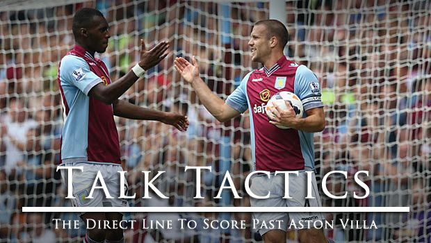 Talk Tactics The Direct Line To Score Past Aston Villa