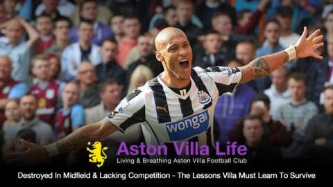 Destroyed In Midfield & Lacking Competition – The Lessons Villa Must Learn To Survive