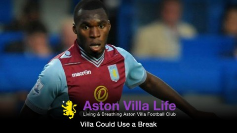 Villa Could Use a Break