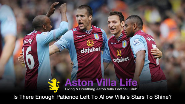 Is There Enough Patience Left To Allow Villas Stars To Shine