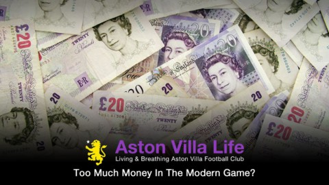 Too Much Money In The Modern Game?