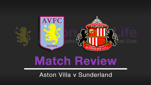 Match Review Aston Villa V Sunderland V6