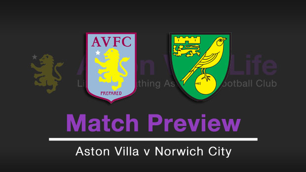 Match Preview Aston Villa V Norwich City
