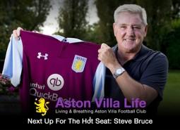 Steve Bruce takes the reins at Aston Villa