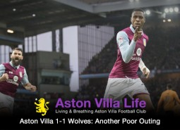 Jonathan Kodjia's penalty and later volley were Aston Villa's only highlights in a 1-1 draw to Wolverhampton Wanderers